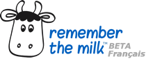 Gestion de tâches en ligne : Remember The Milk