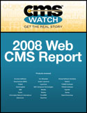 Trends Web CMS Report 2008