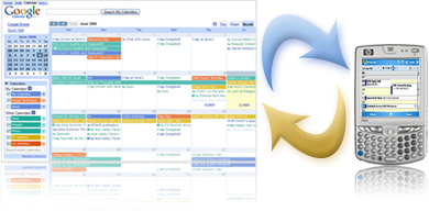 GooSync, pour synchroniser Google Calendar avec un mobile, Outlook ou Notes