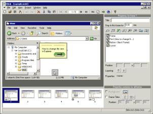 Wink : Créer facilement une présentation animée de vos applications