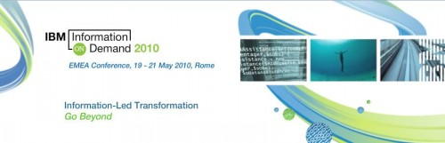 Conférence Information On Demand EMEA 2010 à Rome - IBM