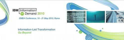 Conférence Information On Demand EMEA 2010 à Rome - IBM