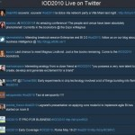 IOD2010 Live on Twitter - Best Of des tweets de la semaine
