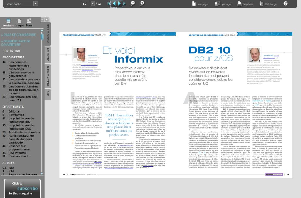Data Management Magazine Sample