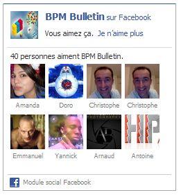 page pro Facebook widget