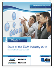 State of the ECM Industry 2011, quelques repères