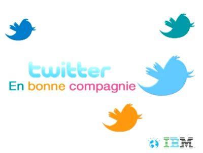 Twitter en bonne compagnie. L'envie d'échanger. La vidéo