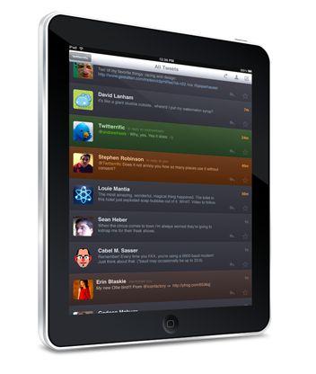 Twitterrific pour iPad