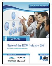 State of the ECM Industry 2011, quelques repères