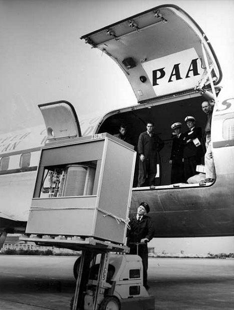baie IBM 305 RAMAC 5Mb 1956